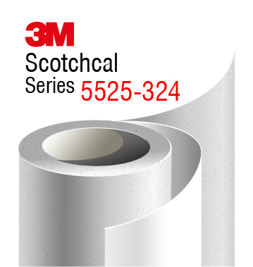 3M 5525-324 Crystal Frosted film