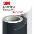 3M Scotchcal Blockout Film 3635-22B Black Matte