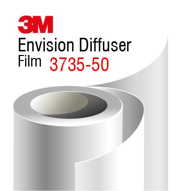 3M Envision Diffuser Film 3735-50 white