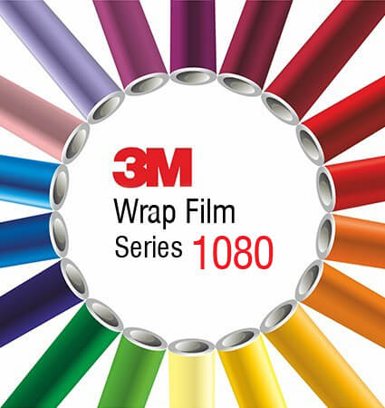 3M 1080 Car Wrap Film