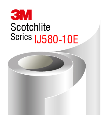 3M Scotchlite Reflective Grapchic Film IJ580-10E