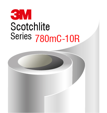 3M Scotchlite Print Wrap Film 780mC-10R, retrorelective