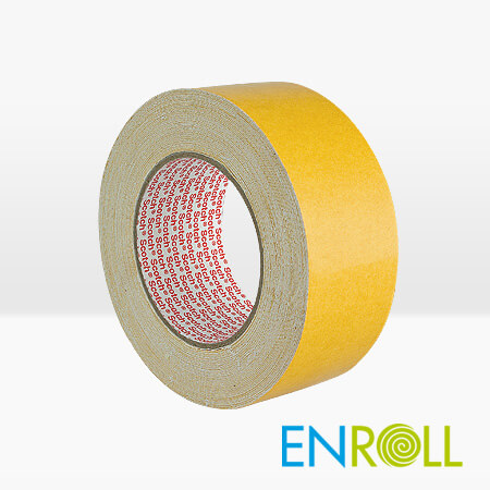 3M 9191 Carpet Double Sided Tape, 50mm x 25m - enroll