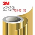 3M Scotchcal Mirror Gold Film 7755-431 SE