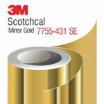 3M Scotchcal Mirror Gold Film 7755-431 SE