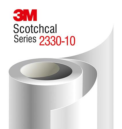 3M Scotchcal 2330-10 white translucent