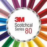 3M Scotchcal 80 u bojama - sjajna