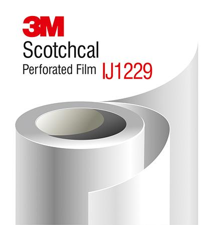 3M Scotchcal IJ 1229 perforirana folija za prozorsku grafiku