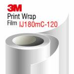 3M Print Wrap Film IJ180mC-120, metallic