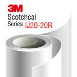 3M Scotchcal IJ20-20R White matte