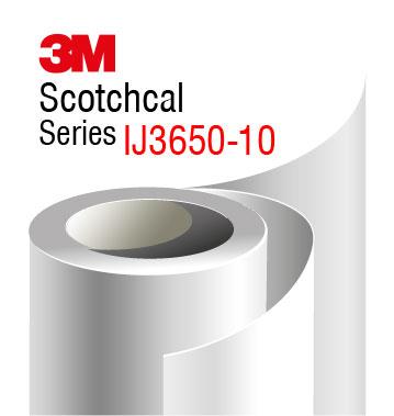 3M Scotchcal IJ3650-10 white glossy