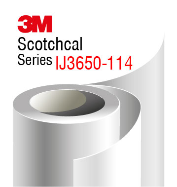 3M Scotchcal IJ3650-114, transparent