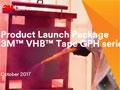 Broschure 3M VHB GPH tapes