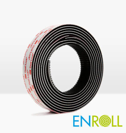 3M Dual Lock Reclosable Fastener SJ3550 Black 25mmx45.5m