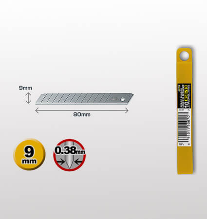 OLFA ASB-10 Snap-off blade, 9mm