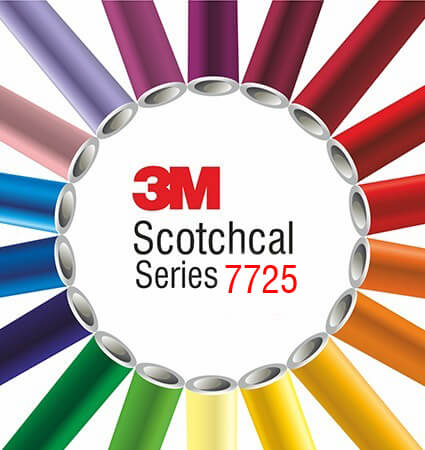 3M 7725-300 Frosted colors