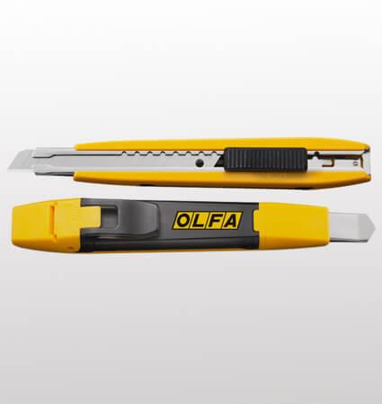OLFA DA-1 Standard cutter, 9mm