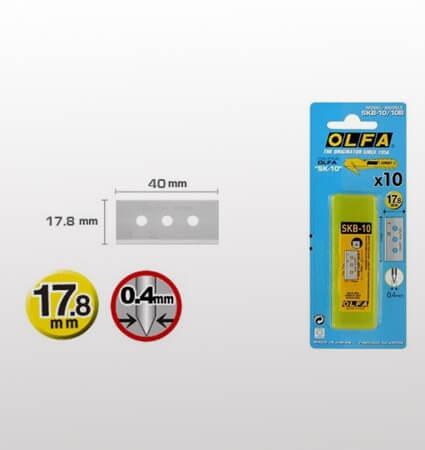 OLFA SKB-10/10B Trapezoid Blades