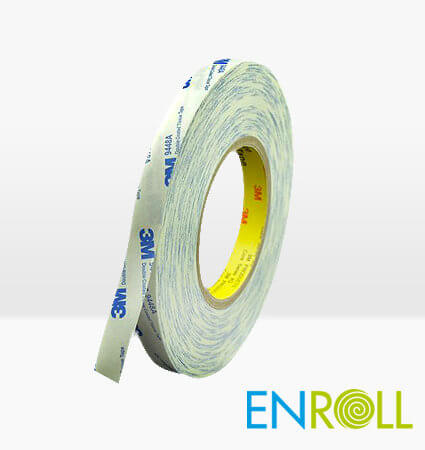 3M 9448A Double Coated Tissue Tape, Enroll