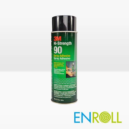 3M Spray 90, Hi-Strength Spray Adhesive from Enroll