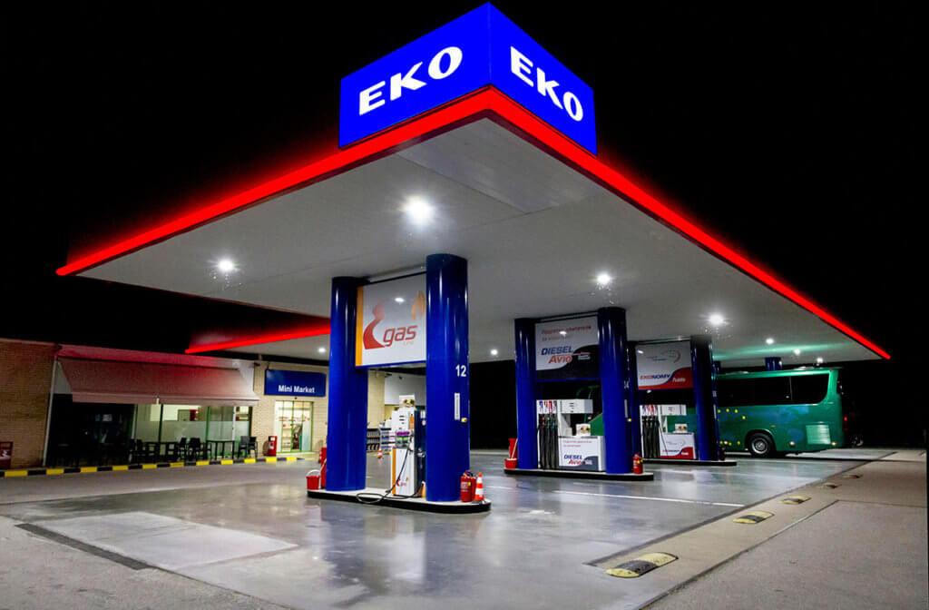 SloanLED lampe za benzinske pumpe