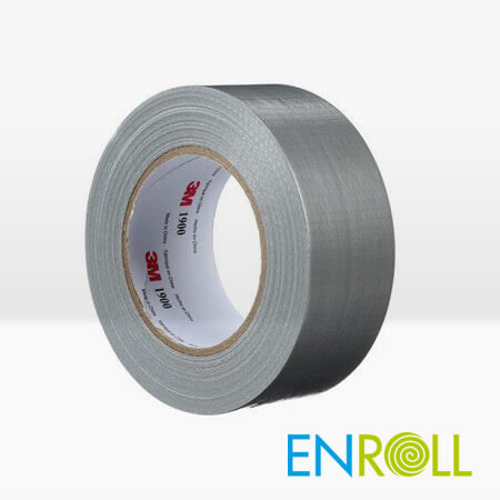 3M 1900 Duct Tape Silver, 50mm