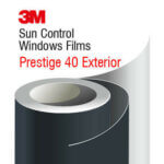 3M Prestige 40 Exterior - solar control film for outside application