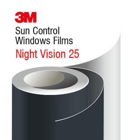 Folije za visoku zaštitu od sunca 3M Night Vision 25