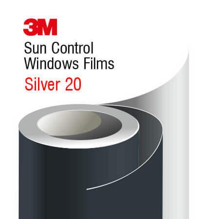 3M Silver 20 Interior - unutrasnja folija za stakla
