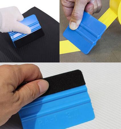 Plava špahtla za aplikaciju zaštitne folije - 3M PA-1