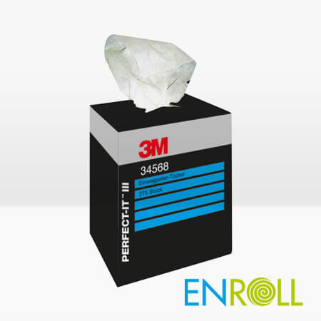 3M Perfect it-III Polishing Wipes 34568, pack of 275