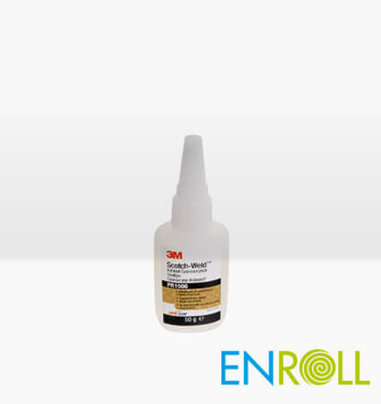 3M Scotch-Weld Plastic and Rubber Instant Adhesive PR1500, 50gr